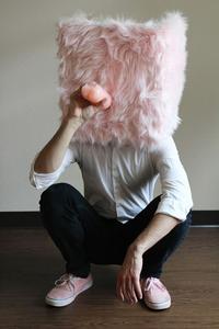 Pink Box Man
