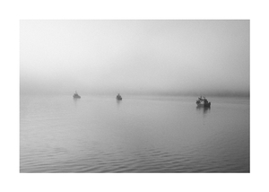 A foggy morning on the Nakenk River