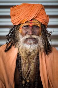 Sadhu portrait 08