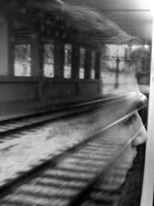 Homesick on the train