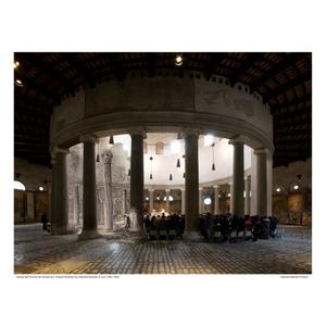 Tempio di Santo Stefano Rotondo [Le Antichitá romane I] circa 1784 / 2016