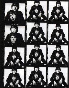 Beatles Proof Sheet, 1965 © David Bailey