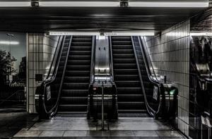 Frankfurt stairs