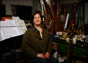 Leslie Ross -Bassoon Maker- Lower East Side Manhattan