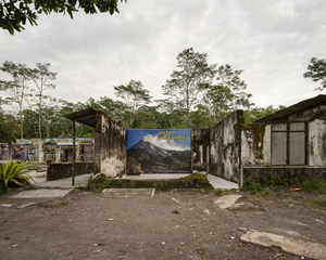 House of Petung's headman (Lurah), Kepuharjo village, Yogyakarta (now a museum following its destruction during the 2010 eruption)