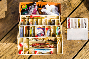tackle box well organized life