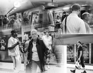 Underground Station in Stockholm