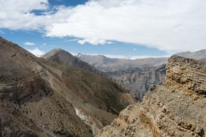 The mountainous desert of Upper Dolpo. Upper Dolpo, Nepal, June 2017.