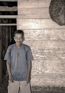 Mentawai fisherman