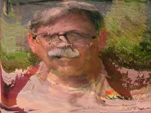 Portrait of the Artist Dismayed