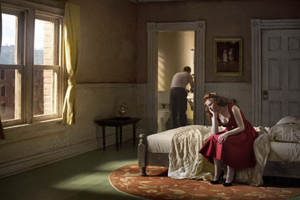 """Pink Bedroom (Daydream). From the series """"Hopper Meditations"""" © Richard Tuschman. 3rd place, Portfolio Category, 2013 LensCulture Exposure Awards"""