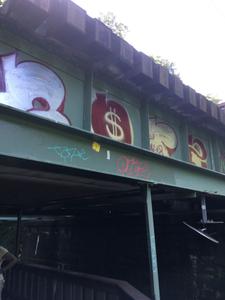 Second River Underpass, NJ Transit Track