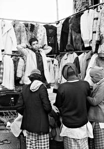 Coat Seller, Old Delhi, India, 1990
