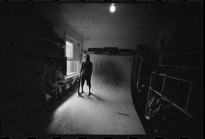 Josh, Portrait, Bedroom Ramp, Bondi, NSW