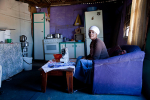 Cindy's Mother. Gugulethu Township, South Africa, 2015.