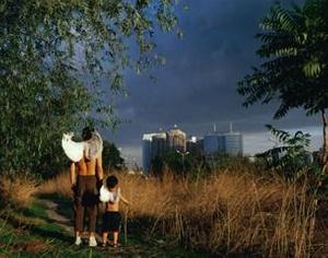 Injured Ingel-City Sunset