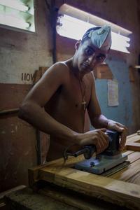 Habana, Cuba: Carpintero