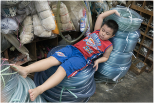 Street Photography - Sleeping Series 10  (Indonesia)