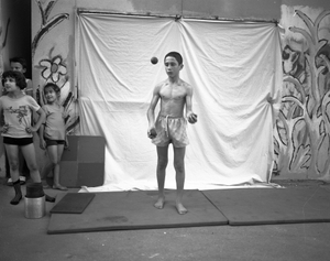 student @ russian circus school