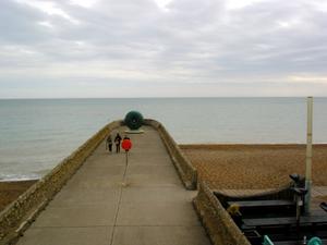 Jetty On Brighton Beach