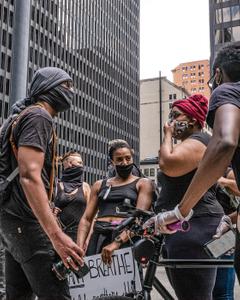 Protestors Unite