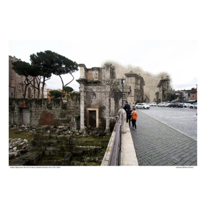 Foro di Nerva [Vedute di Roma] circa 1778 / 2016