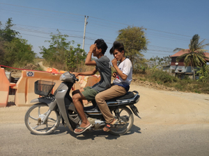 17 Cambodge on the road