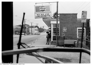 Wes´s Bus Stop Luncheonette.