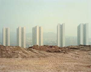 Logements de masse. District de Banan, Chongqing. Chine, Décembre 2017.