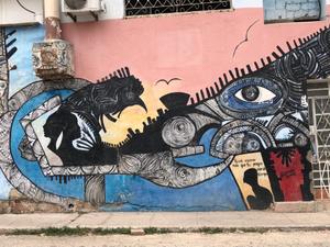 Mural, Central Havana