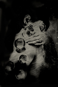 """Restoration of an Earlier State. 10""""x14"""" Tintype. From the series """"Soma"""" © Michelle Rogers Pritzl"""