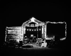 Campsite at Night