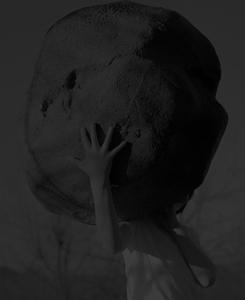Boy with stone, 2019