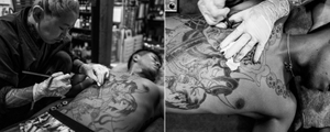 Horiren 1st - Tebori (hand-poked) Tattoo Artist, Saitama
