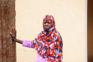 Curious Rwandan lady of Nyamirambo