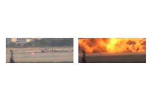Largest Army Tank Explosion In War EVER Syrian War