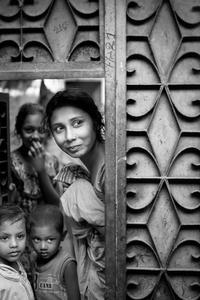 Bangladesh Woman in Door
