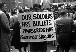 Our Soldiers, NYC, 1967