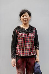 Shanghai Tower Construction Worker