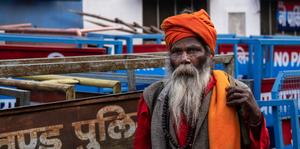 Sikh coloré a Haridwar