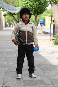 Boy is Esfahan, Iran