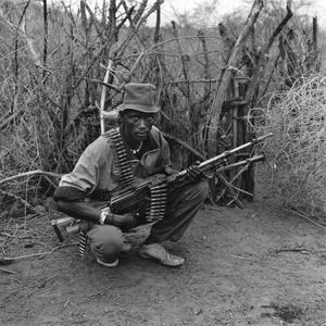 Portrait sof armed man