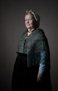 A series of portraits of  Dutch (Scheveningen) ladies in traditional dress (3)
