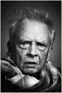 Portrait of David Bailey, 2012 © Jason Bell