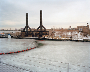 Former Morgan Oil Terminals Corporation, 200 Morgan Avenue from the end of Stagg Street, East Williamsburg, Brooklyn, looking southwest