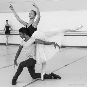 Ballet Practice, Havana.