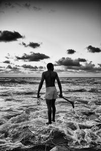Il marche sur l'eau