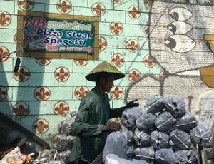 Charcoal seller