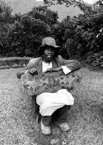 Ugandan Harpist