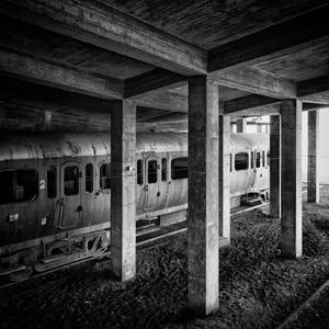 train in concrete